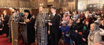 Canonul cel Mare în cea de-a patra zi de post la Catedrala Arhiepiscopală din Galaţi