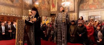 Slujba Canonului cel Mare la Catedrala Arhiepiscopală din Galaţi