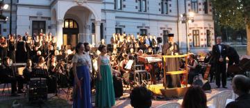 Concert de muzică la Muzeul Istoriei, Culturii şi Spiritualităţii Creştine de la Dunărea de Jos