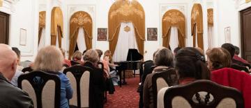 Concert de pian la Muzeul eparhial din Galaţi