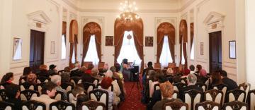 Concert de pian la Muzeul Istoriei, Culturii și Spiritualității Creștine de la Dunărea de Jos