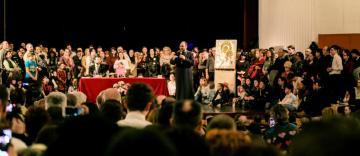 """Părintele Constantin Necula a susținut la Galați conferinţa """"Sfinţii - îmblânzitori de civilizaţie"""""""