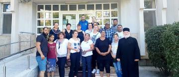 25 de tineri voluntari din Protoieria Tecuci au donat sânge