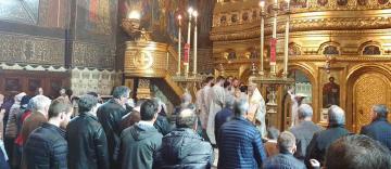 Slujire arhierească la Galați în Duminica a 4-a din Postul Sfintelor Paști