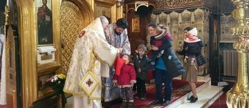 Slujire arhierească la Galați în Duminica lăsatului de sec pentru Postul Sfintelor Paști