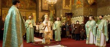 Praznicul Floriilor în Arhiepiscopia Dunării de Jos