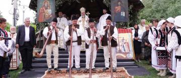 Zi de sărbătoare la Mănăstirea Cârlomăneşti din judeţul Galaţi