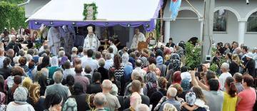 Sărbătoarea Naşterii Maicii Domnului la Mănăstirea Cudalbi din judeţul Galaţi