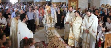 """Hramul bisericii """"Sfânta Ana"""" din Galaţi"""