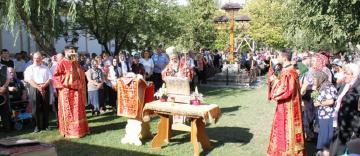"""Hramul bisericii """"Sfânta Cruce"""" din Galaţi"""