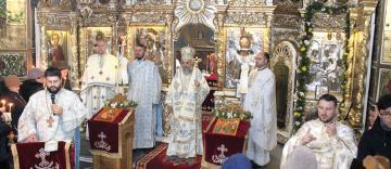 """Biserica """"Vovidenia"""" din Galaţi şi-a sărbătorit hramul"""