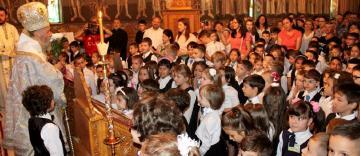 """Seminarul Teologic """"Sfântul Apostol Andrei"""" din Galaţi şi-a deschis porţile la început de nou an şcolar"""