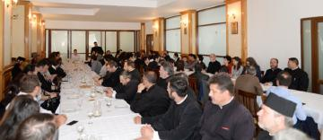 Lucrările Cercului Metodic pe semestrul II la disciplina Religie şi întâlnirea consultativă premergătoare tradiţionalului pelerinaj de la Mănăstirea Buciumeni