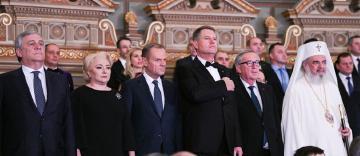 Patriarhul Daniel a participat la Ceremonia oficială de lansare a Președinției României la Consiliul UE