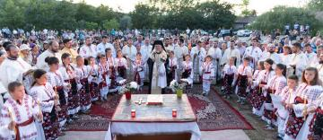 Prohodul Maicii Domnului la Mănăstirea Adam din județul Galați