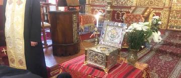 Racla cu un fragment din moaștele Sfântului Constantin Brâncoveanu a fost donată bisericii ctitorite de el în Istanbul