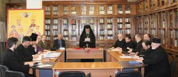 Şedinţa Consiliului eparhial al Arhiepiscopiei Dunării de Jos