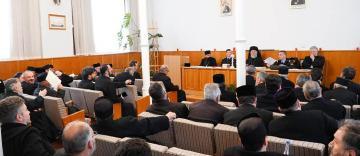 Şedinţă de lucru a Permanenţei Consiliului Eparhial în cadrul Protoieriei Galaţi