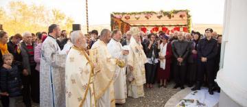 """Sfinţirea bisericii """"Sfântul Nicolae"""" din parohia Rugineni, judeţul Galaţi"""