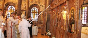 """Sfinţirea bisericii monument istoric """"Sfinţii Arhangheli Mihail şi Gavriil"""" din municipiul Brăila"""