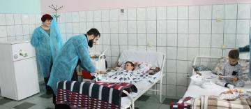 Spaţiu de recreere şi loc de joacă pentru copiii internaţi în Spitalul Judeţean din Brăila