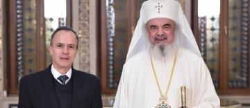Patriarhul României a primit vizita de prezentare a ambasadorului Mexicului la București