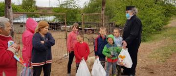 Activitatea filantropică în Arhiepiscopia Dunării de Jos în perioada 4-10 mai