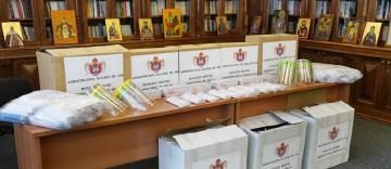 Arhiepiscopiei Dunării de Jos sprijină cele trei eparhii din Basarabia