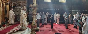 Slujire arhierească la Catedrala arhiepiscopală din Galaţi în Duminica întâi după Rusalii