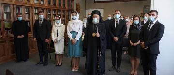 Trei tineri teologi au primit binecuvântare pentru căsătorie
