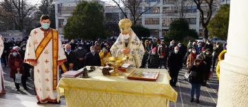 Praznicul Botezului Domnului în Arhiepiscopia Dunării de Jos