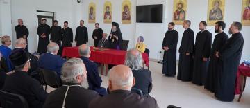 Consfătuirea profesorilor din cadrul Seminarului Teologic din Galaţi şi revederea promoţiei 1970-1975 a Seminarului Teologic din Buzău