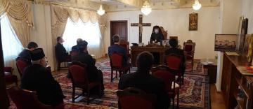 Şedinţa de lucru a Consiliului Eparhial al Arhiepiscopiei Dunării de Jos