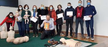 Arhiepiscopia Dunării de Jos a găzduit cursurile de prim-ajutor oferite de Asociația Părinți Salvatori