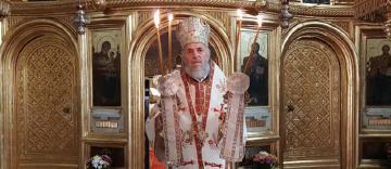 Slujire arhierească la Catedrala Arhiepiscopală din Galaţi