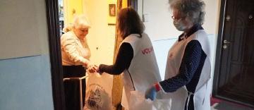 Activitate filantropică la Galaţi în Duminica slăbănogului de la Vitezda