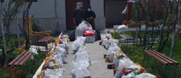 Bucurie prin filantropie în Parohia Vădeni din județul Brăila
