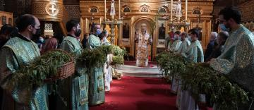 Praznicul Floriilor la Catedrala Arhiepiscopală din Galaţi
