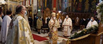 """Zi de sărbătoare la Catedrala """"Naşterea Domnului"""" din Brăila"""