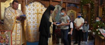 "Hramul bisericii ""Sfântul Mucenic Antim"" din Galați"