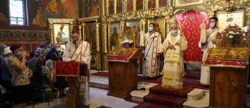 Zi de sărbătoare la biserica gălăţeană ocrotită de Sfântul Dionisie Exiguul