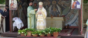Praznicul Pogorârii Sfântului Duh la Catedrala Arhiepiscopală din Galați