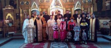 Rugaciune și filantropie în localitatea Ghidigeni