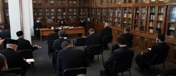Şedinţă administrativă la Centrul Eparhial al Arhiepiscopiei Dunării de Jos