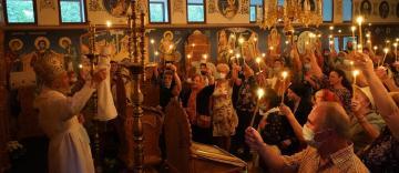 """Sfinţirea bisericii """"Sfânta Sofia"""" din municipiul Galaţi"""