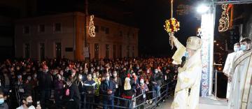 Slujba Învierii la Catedrala Arhiepiscopală din Galaţi