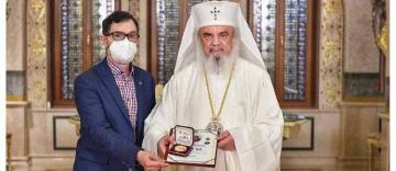 Presedintele ASCOR Galati, premiat de Patriarhul Romaniei